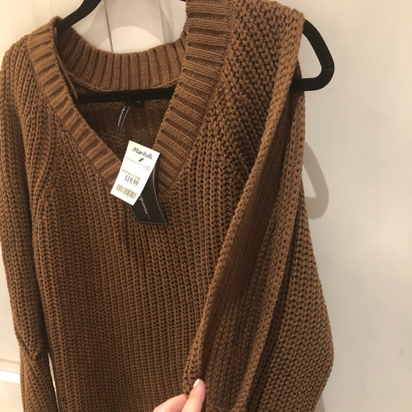 Moon Madison Sweaters Brownolive Sweater Poshmark
